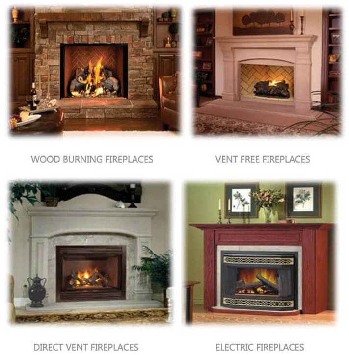 Fireplaces at Clayton Appliances